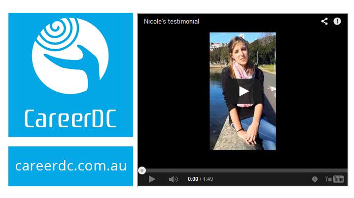 Nicole's Australian internship testimonial