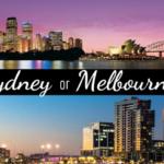 Sydney or Melbourne?